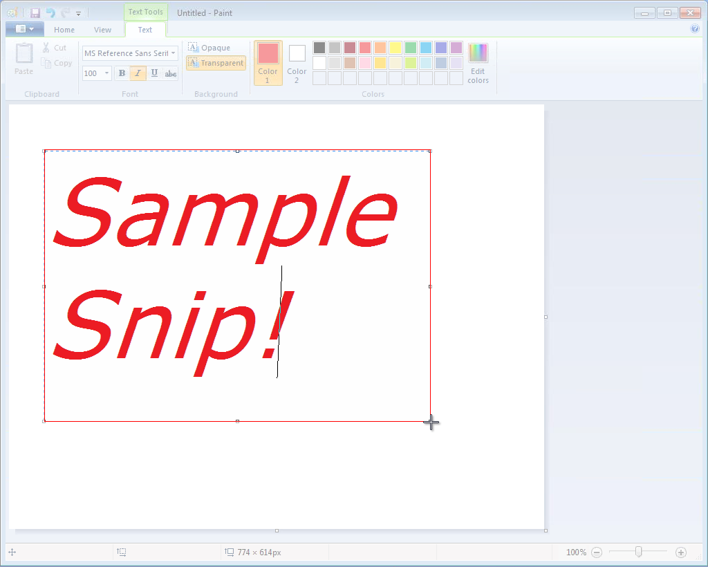 how to use the snipping tool on mac
