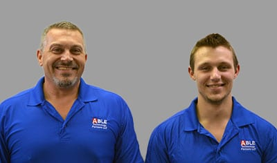 photo of Able founders, Brian and George